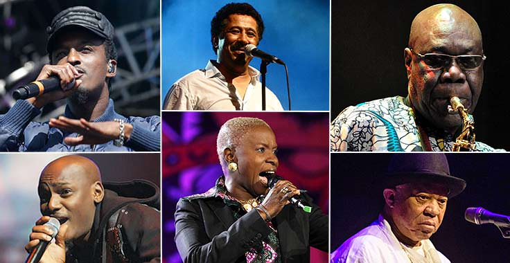 9 World Famous African Musicians